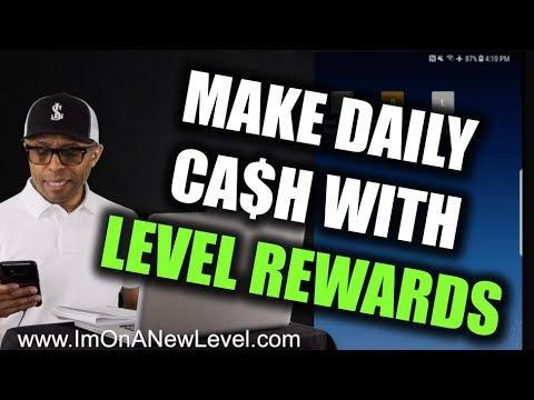 Level Rewards - A Simple Way To Make Money Online