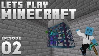 Ijevin Plays Minecraft - Ep. 2: Diamond Grinder! (1.14 Minecraft Let