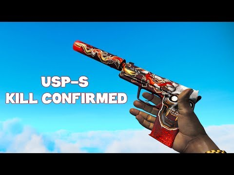CS:GO - USP-S | Kill Confirmed Gameplay