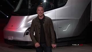 Tesla Semi & Roadster Unveil