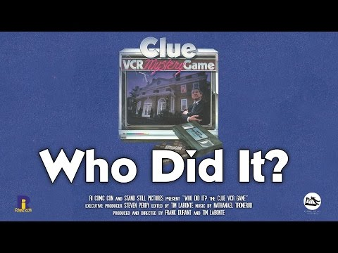 Who Did It? The Clue VCR Game