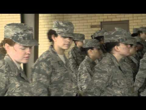 USAF BMT Training Video 2/3 (15JAN2013 - 15MAR2013)