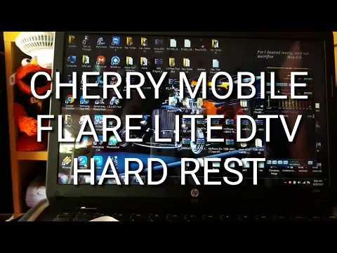 Cherry Mobile Flare Lite DTV hard reset