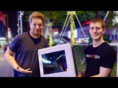 China Electronic Markets w/Linus Tech Tips! HUGE PC Giveaway!