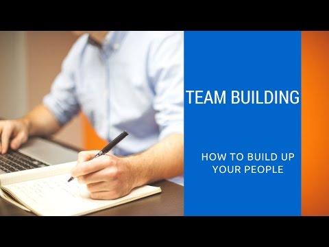 How To Build A Strong Team| Team Building Training