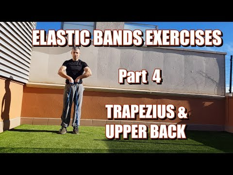 100 RESISTANCE BANDS EXERCISES | PART 4: TRAPS & UPPER BACK