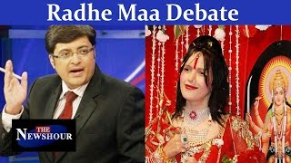 Radhe Maa Controversy | Is Religion above the law?: The Newshour Debate (10th Aug 2015)