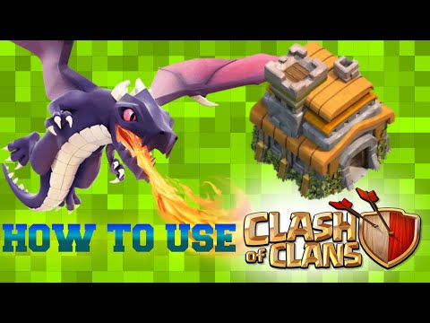 How to use Dragon on Town Hall 7 | War | Multiplayer Battle - Clash of Clans