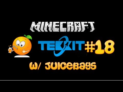 Minecraft Tekkit for 1.5.1 Episode 18 [ Quarry Sorting and Auto Smelting ]
