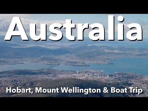 Australia - Tasmania - Hobart, Mount Wellington & Boat Trip
