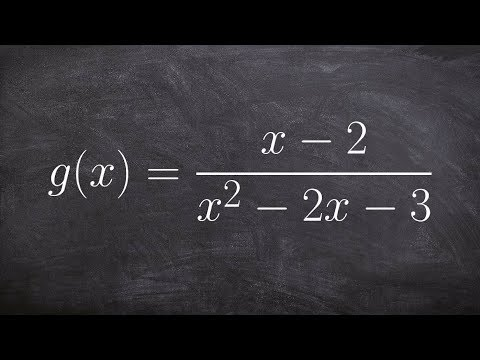 Learn to find all of the asymptotes of a rational function