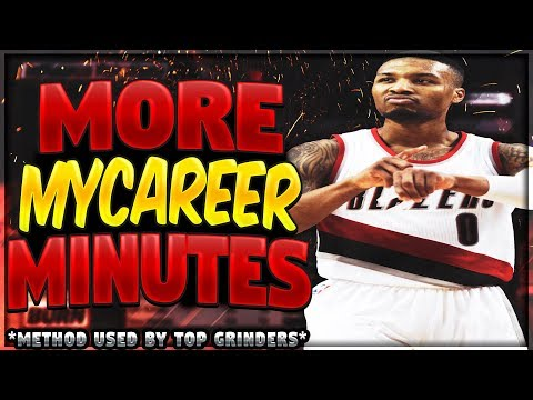 How To Get More Minutes In Mycareer NBA 2k18 | How To Change Starting Lineup