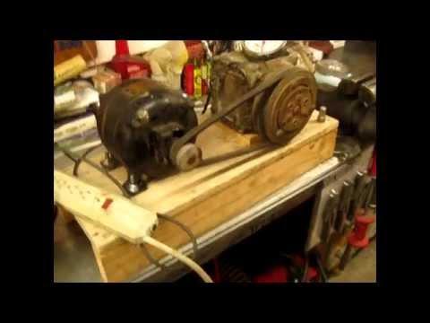 Homemade vacuum pump