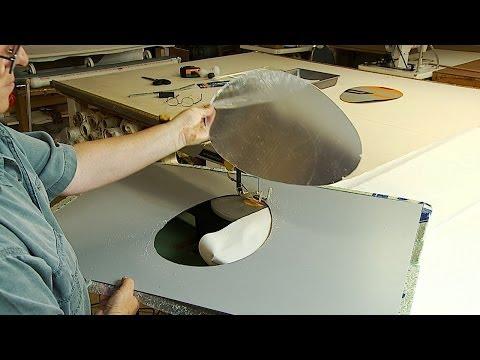 How to cut Shaped Hole in an Acrylic Plexiglass Mirror Sheet