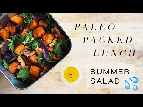 Paleo Packed Lunch #3: Sweet Potato & Rocket Salad