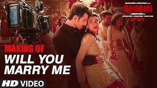 Making Of Will You Marry Me Video Song  | Bhoomi | Aditi Rao Hydari, Sidhant | Sachin - Jigar