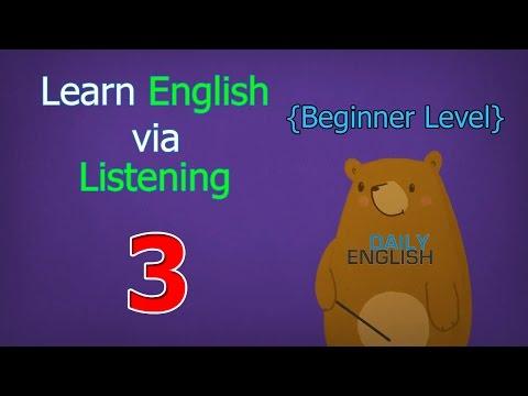 Learn English via Listening Beginner Level | Lesson 3 | My Flower Garden