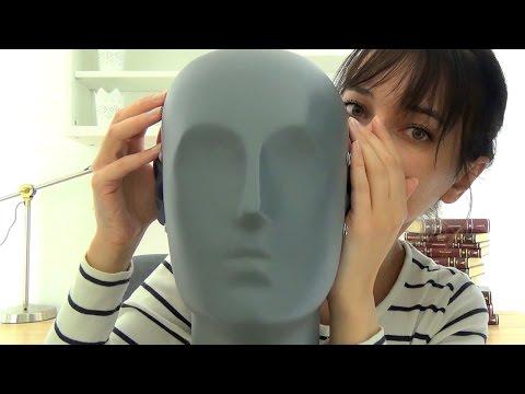 Binaural ASMR Tapping Your Head to Make You Tingle + Polish Ear To Ear Whispering