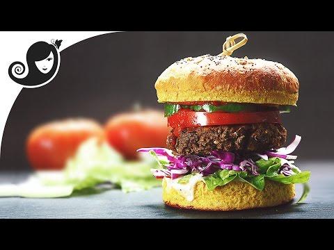 My Best Veggie Burger   Vegan/Vegetarian Recipe + Soy-free + Gluten-free + Eggless