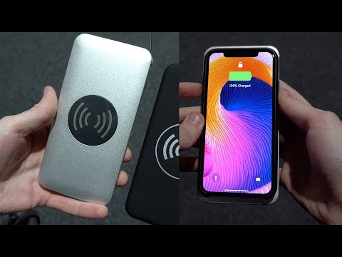 Haufly Portable Wireless Phone Charger Review (Silver Aluminum)