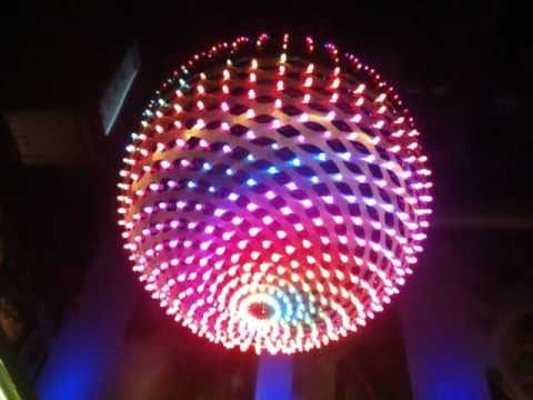 LED Video Ball, RGB LED chandelier, LED ORB