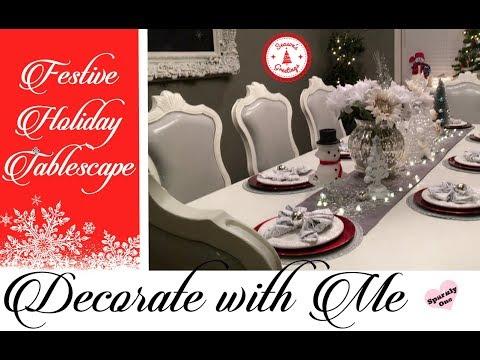 🎄  Last Minute Christmas Tablescape Ideas 🎄