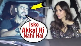 Arjun Kapoor IGNORES Malaika Arora At Katy Perry Welcoming Party