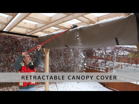 Retractable Pergola Canopy Cover - Outdoor Living Today