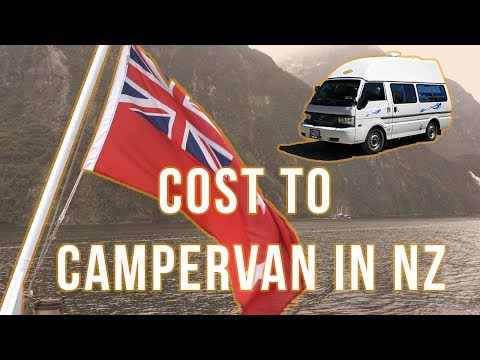 How Much Does A Campervan Cost in New Zealand?