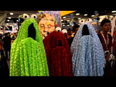 Comic-Con 2013 Costumes - Muppet Martians