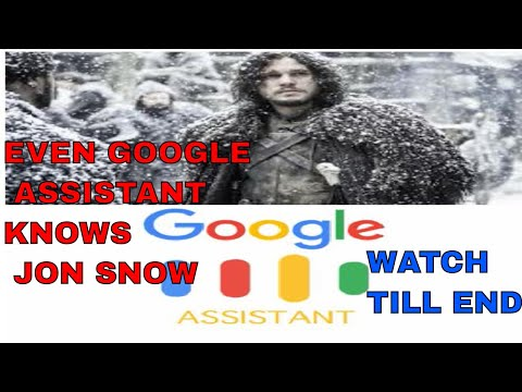 GAME OF THRONES WITH THE GOOGLE ASSISTANT