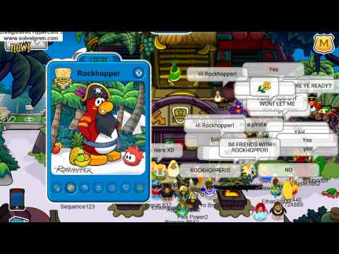 Club Penguin Adventure Party 2012