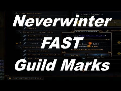 Neverwinter A Great Way To Get Guild Marks 2018