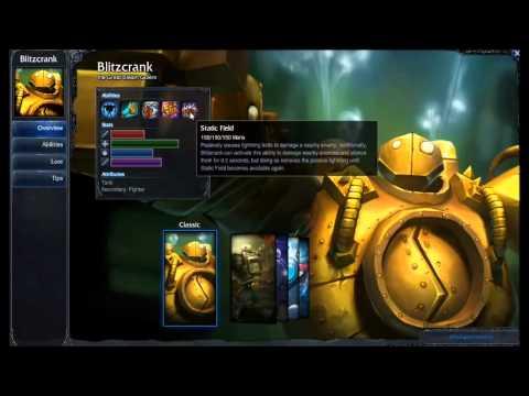 Blitzcrank Champion Spotlight S4