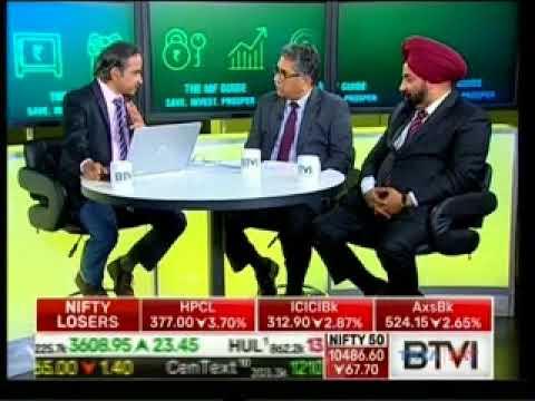 D. P. Singh, SBI MF at BTVI The FM Guide Save Invest Prosper on 28th February 2018