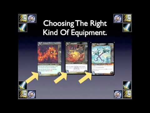 Toutorial on how to make a tournament worthy equiptment deck