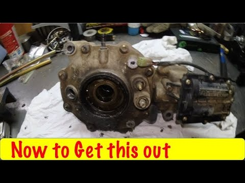 How to Remove Arctic Cat Front Differential part 2