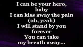 hero lyrics  enrique iglesias