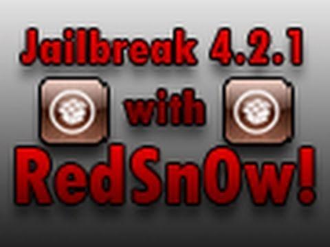**JAILBREAK iOS 5** Jailbreak iOS 4.2/4.2.1 Using RedSn0w (0.9.6b4)!