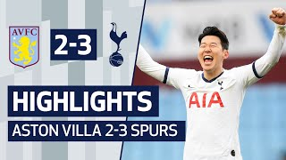 HIGHLIGHTS | ASTON VILLA 2-3 SPURS | HEUNG-MIN SON'S LAST-MINUTE WINNER!