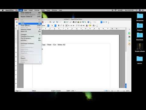 For Mac or PC - Highlighting, Copying, Cutting, and Pasting in any document