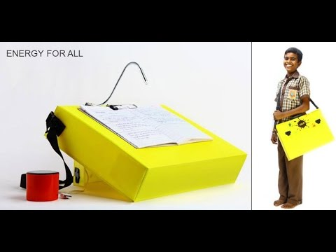 YELO – A Solar Powered Bag that Converts into a Desk