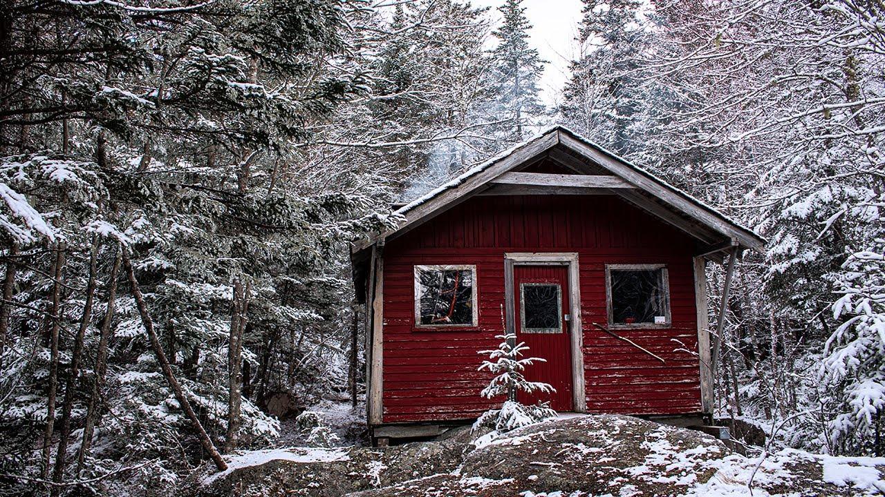Lake Access Only Off-Grid Cabin in Nova Scotia, Canada