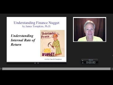 Understanding Internal Rate of Return, James Tompkins