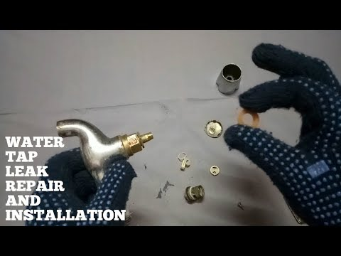 Water Tap Repair Installation-How To Fix Water Tap Leaking-Diy Tap Repair At Home Fast And Easy
