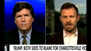 Tucker Carlson's Mind-Boggling Theory On the Rise Of Neo-Nazis