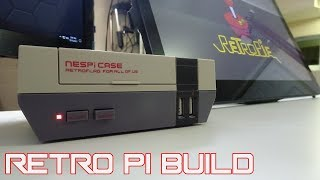 Retro Pie Build with NES pi Case