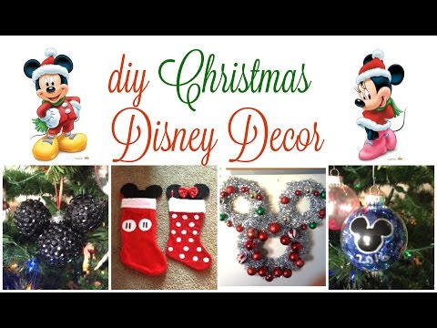 DIY Disney Christmas Decor   2016