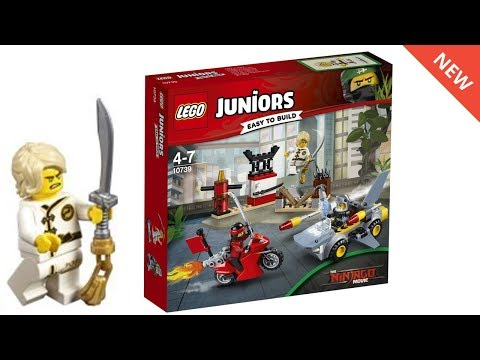 LEGO Ninjago Movie Official SHARK ATTACK Set Pictures!