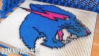 MRBEAST MADE FROM 7,500 DOMINOES | Domino Art #24